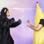 ゴリラとバナナ