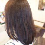 黄色く退色する髪にオススメなパープル系のカラー