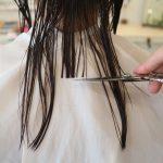 結べるギリギリの長さが人気のミディアムヘア