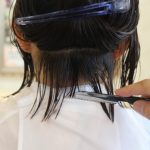 レザーで作る可愛いショートヘア