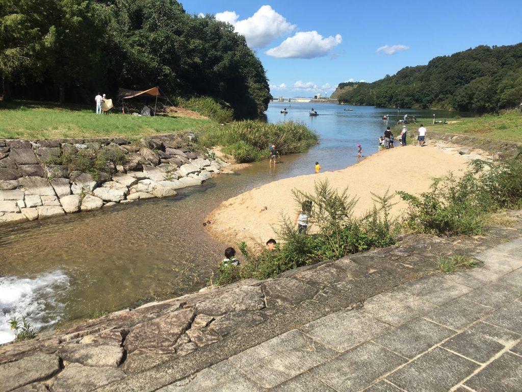 ハロウィンキャンプ,門入ダム