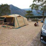 初めての冬キャンプに行ってきました!