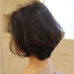 ショートヘアのひし形シルエットの作り方