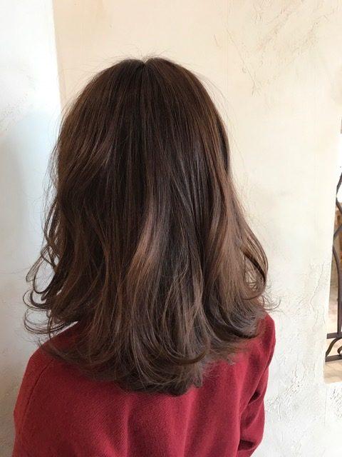 ゆるふわ巻き髪