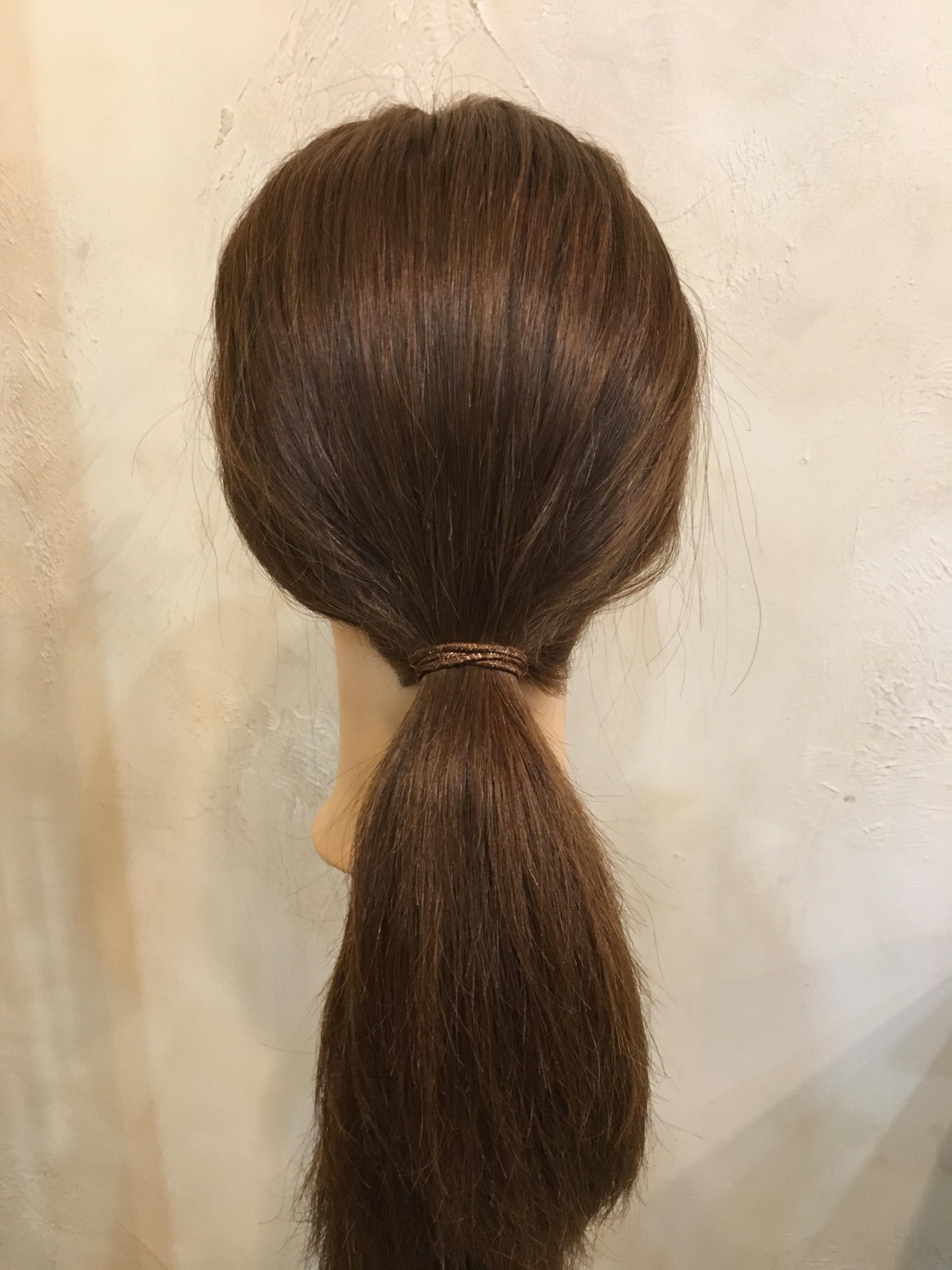 まとめ髪,一束結び