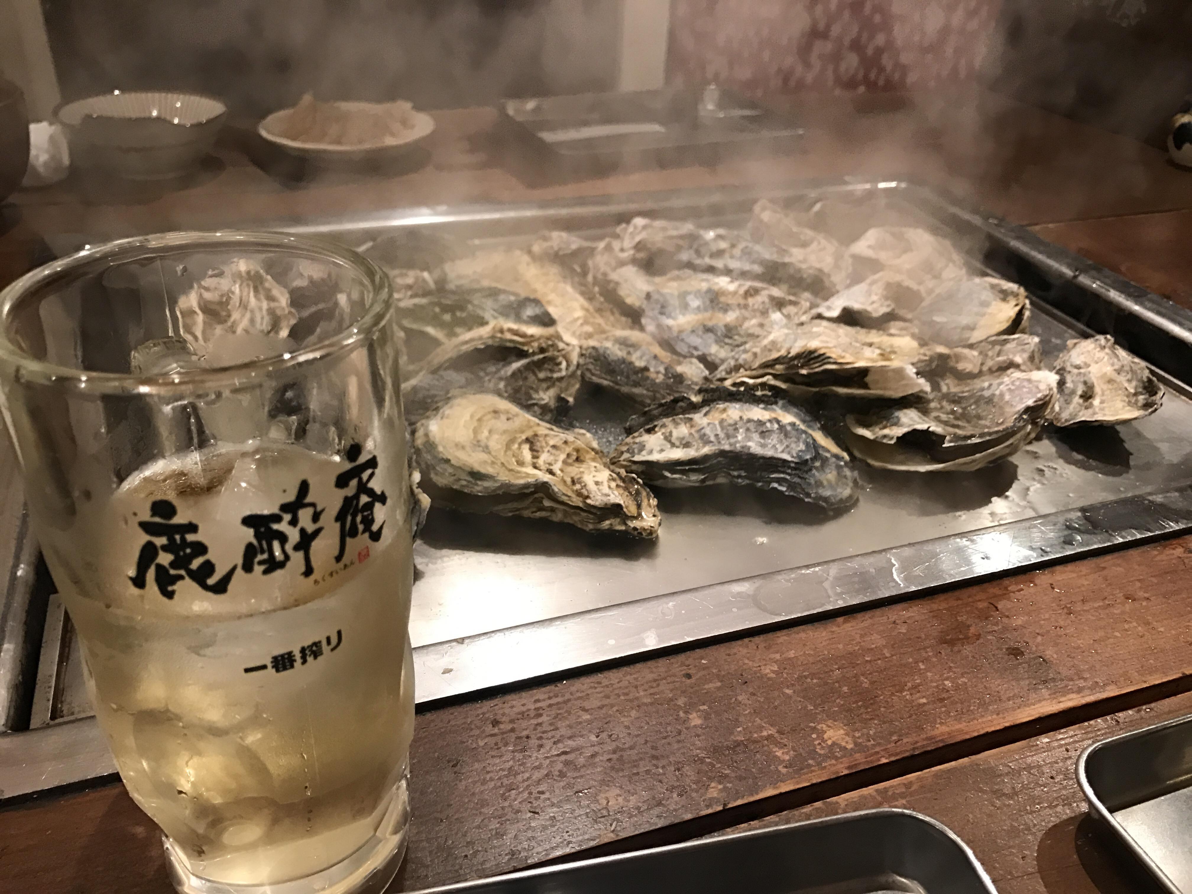 牡蛎焼き鹿酔庵