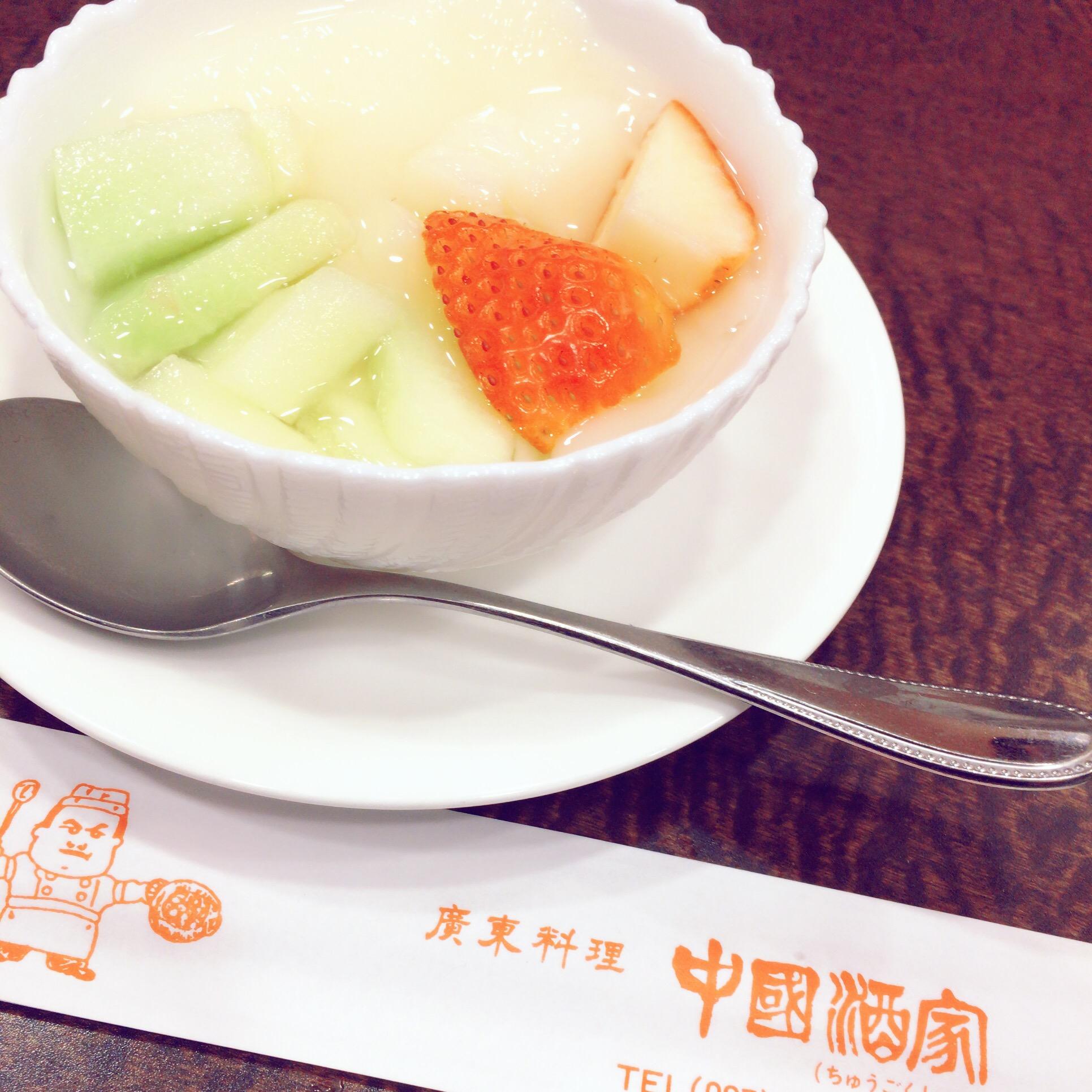 中国酒家杏仁豆腐