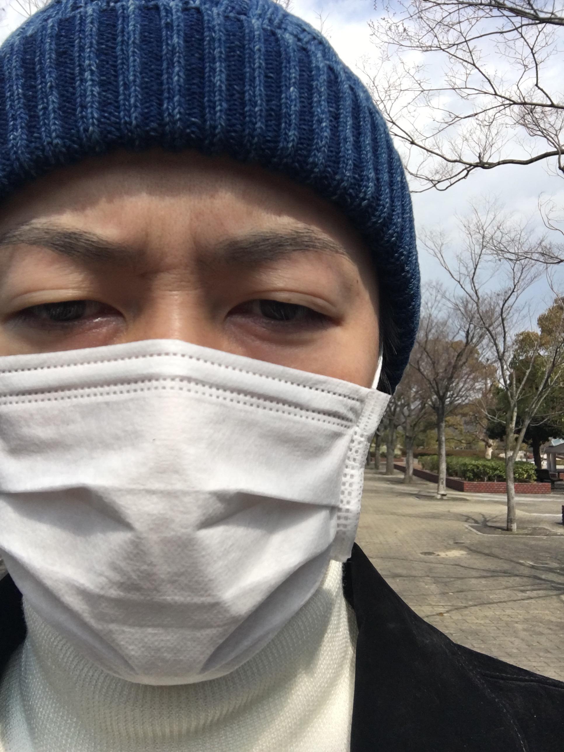 花粉症の男