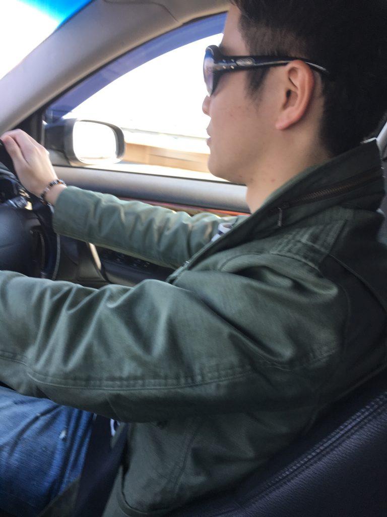 ドライブ、車