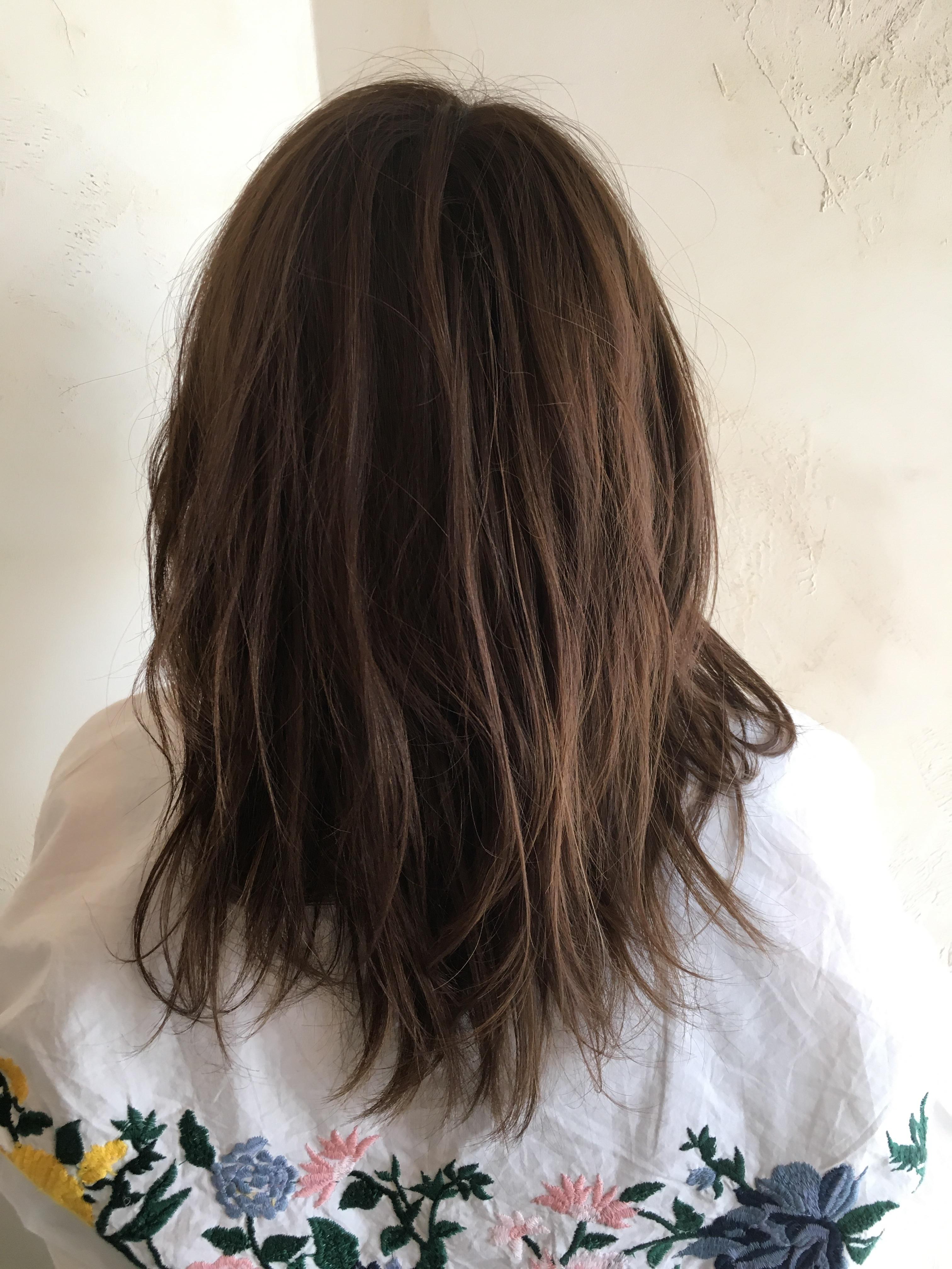 髪,ビフォア