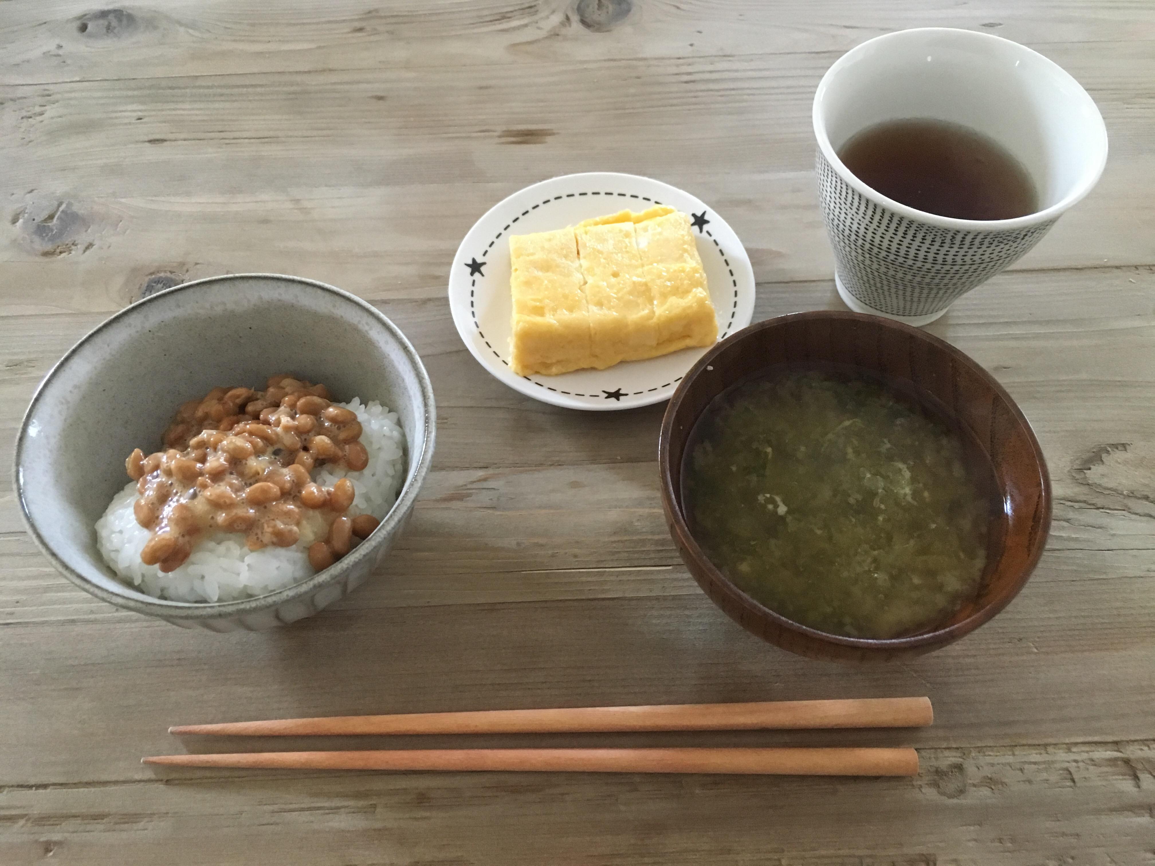 朝ご飯,和風