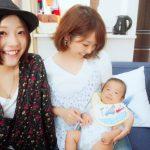 友達の赤ちゃんに会いに行って来ました👶✧︎*。