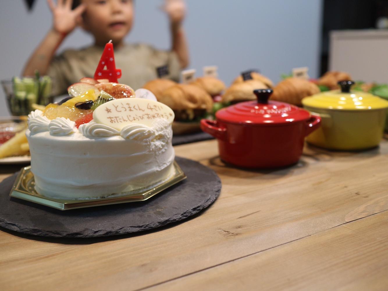 ケーキ,誕生日
