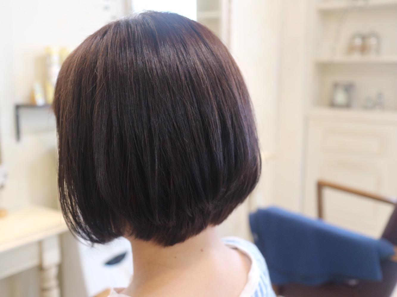 ショートボブ,髪型