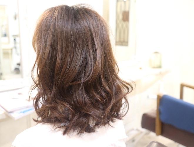 ミディアム,髪型,美容室