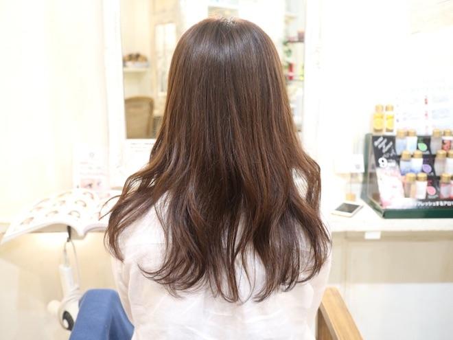 ロングヘア,髪型