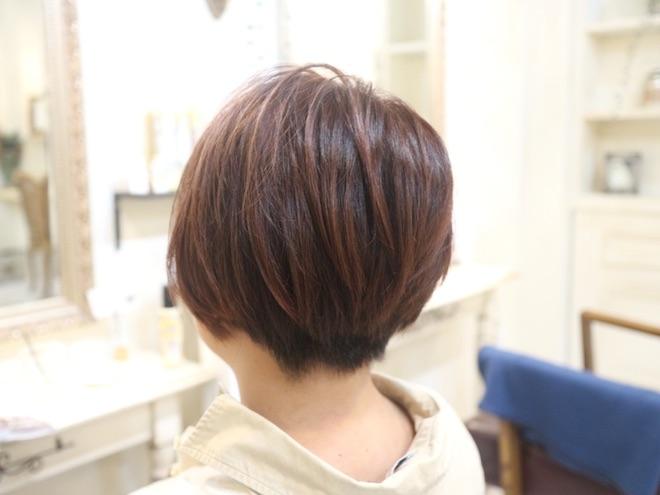 刈り上げ,ショートヘア