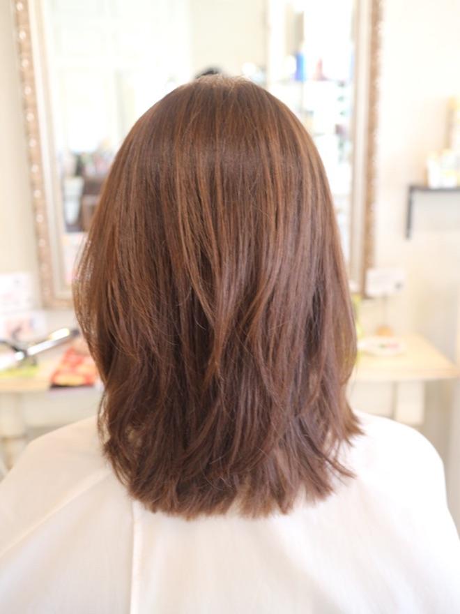 髪型,ミディアム