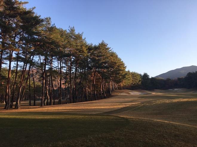 紅葉,ゴルフ