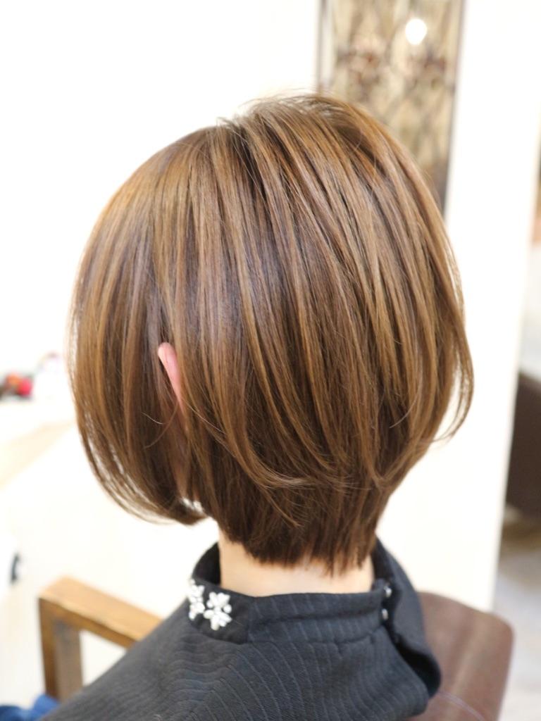 ショートヘア,髪型