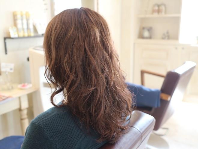 パーマ,髪型