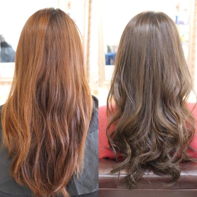 髪,カラー