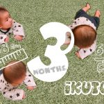 3ヶ月👶🏻バタバタで充実した日々
