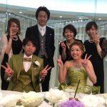たまちゃんの結婚式に行ってきました☆