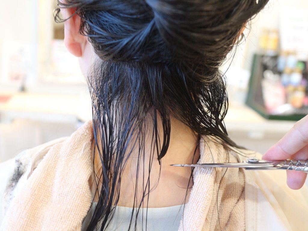 美容室,カット,ショートヘア