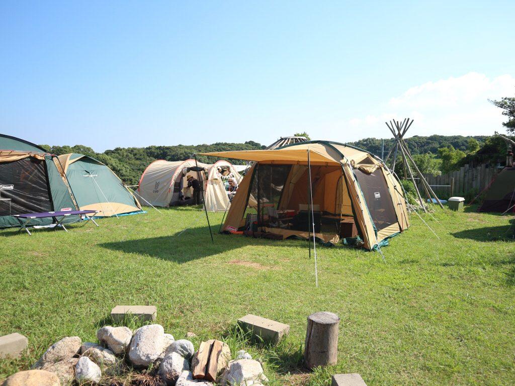 キャンプ,淡路島
