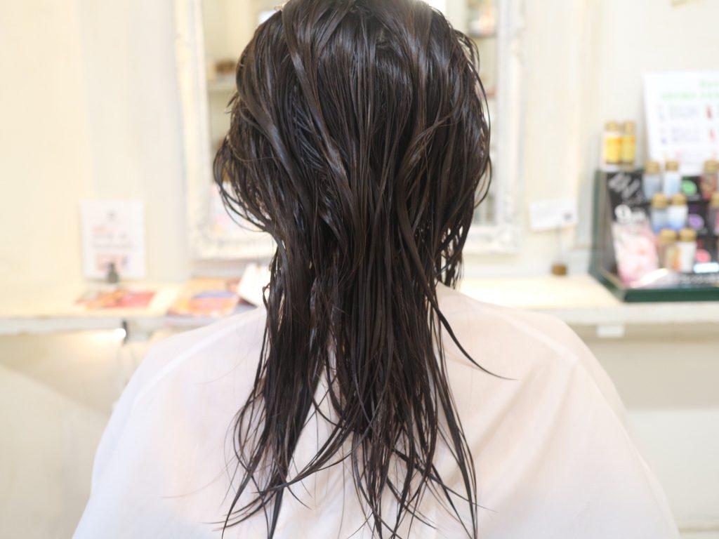 美容室,カット,髪型