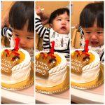 息子 1歳 Birthday 🧡😆