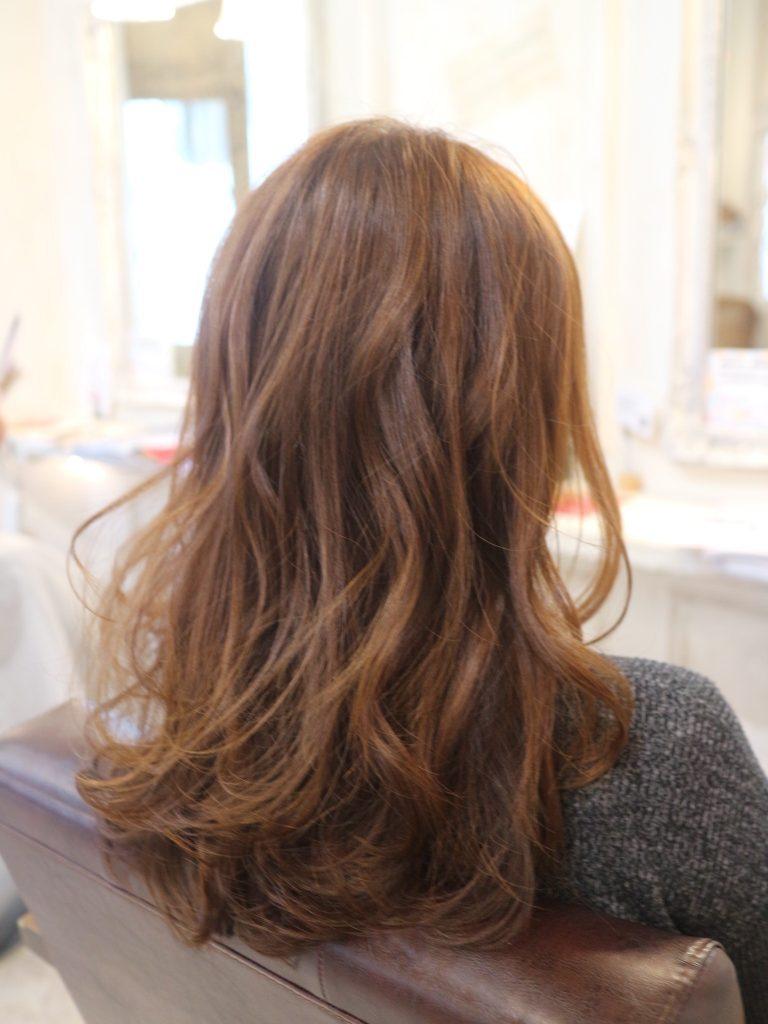 こて,巻き髪,髪型,巻き方