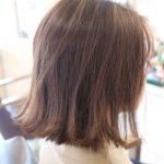 黄色くなりやすい髪にオススメの深みのあるカラー!