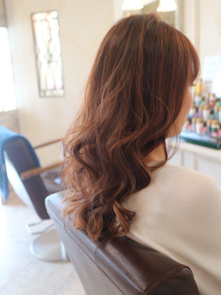 髪型,高松市,巻き髪