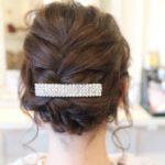 崩し過ぎない結婚式のヘアセット