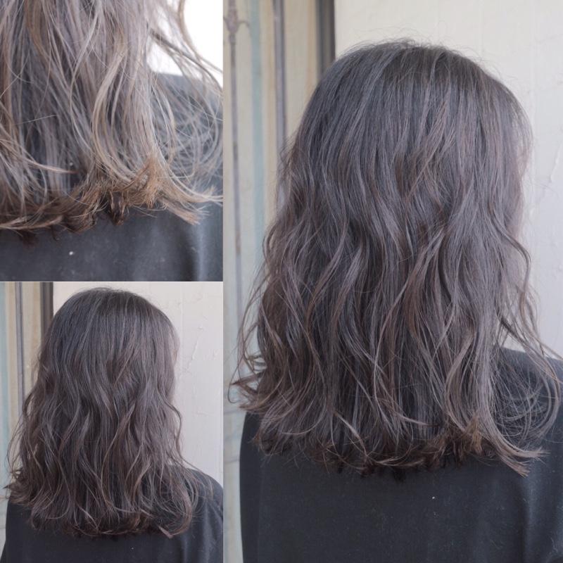 髪 グラデーション