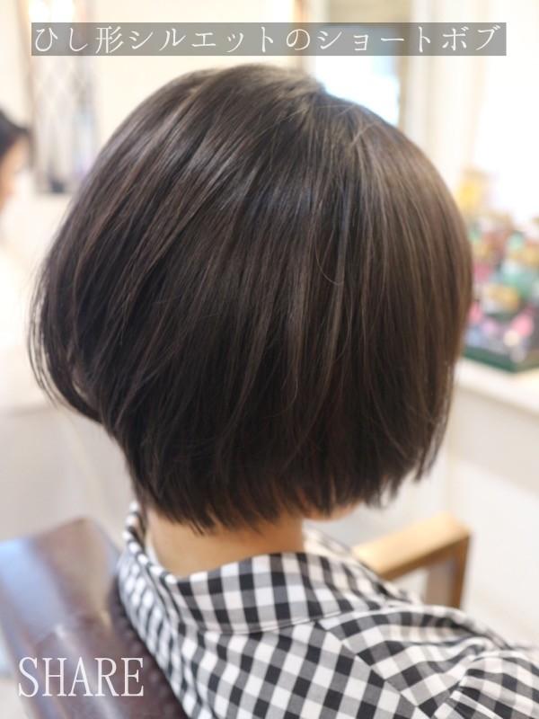 ショートヘア ,髪型