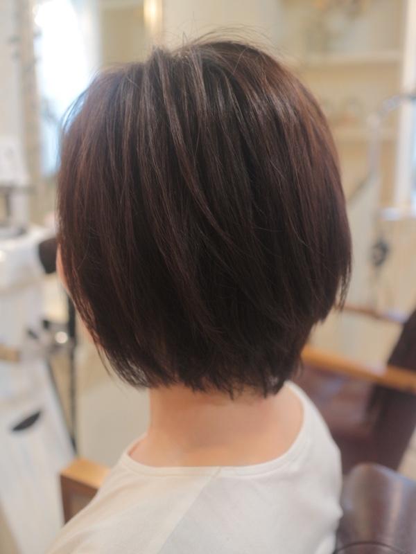 ひし形,シルエット,髪型,美容室
