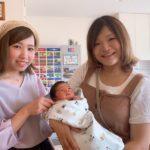 ママ友が2人目出産しました🥰!! 感動ー✧︎*°