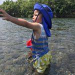 川遊び  海より川派です🏖🚣♀️
