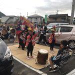 獅子舞の季節がきました🌾