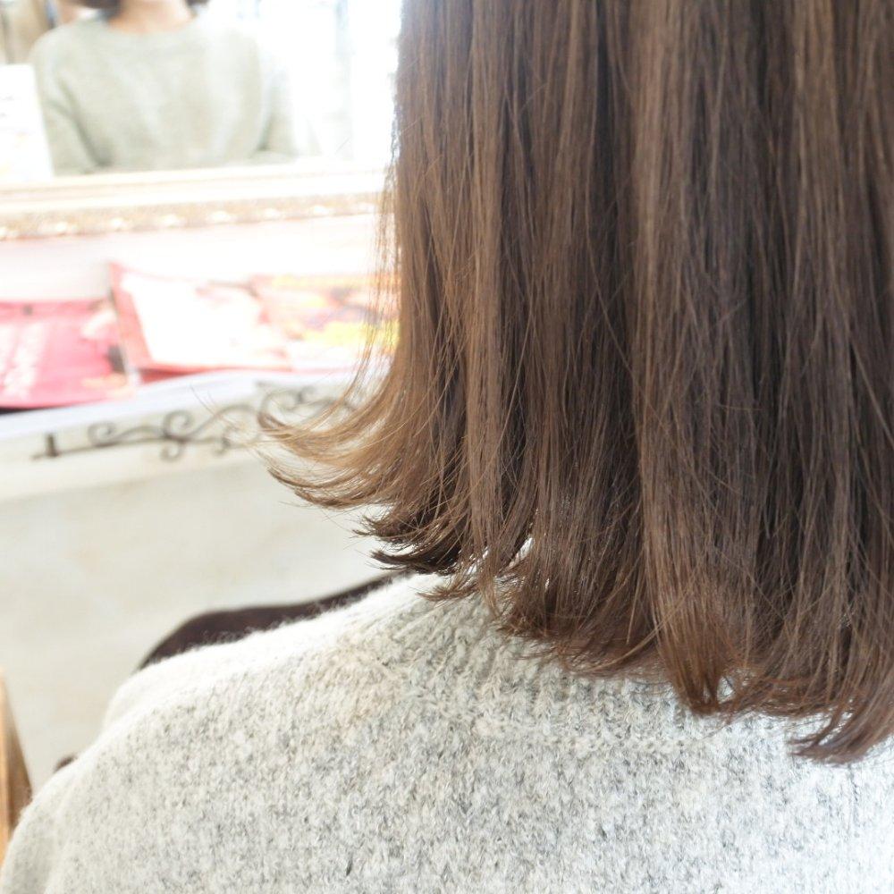 香川県,高松市,美容室,ママ美容師,柴野愛奈,ボブ,カラー