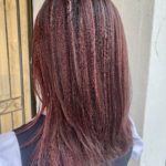 赤髪でイメチェン秋Style